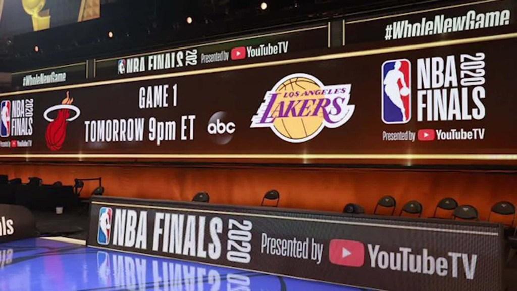 Las finales de la NBA se jugarán en estas canchas