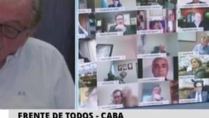 Estos son algunos bochornos en el Congreso virtual de Argentina