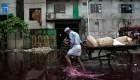 Ríos contaminados en Asia por la industria textil