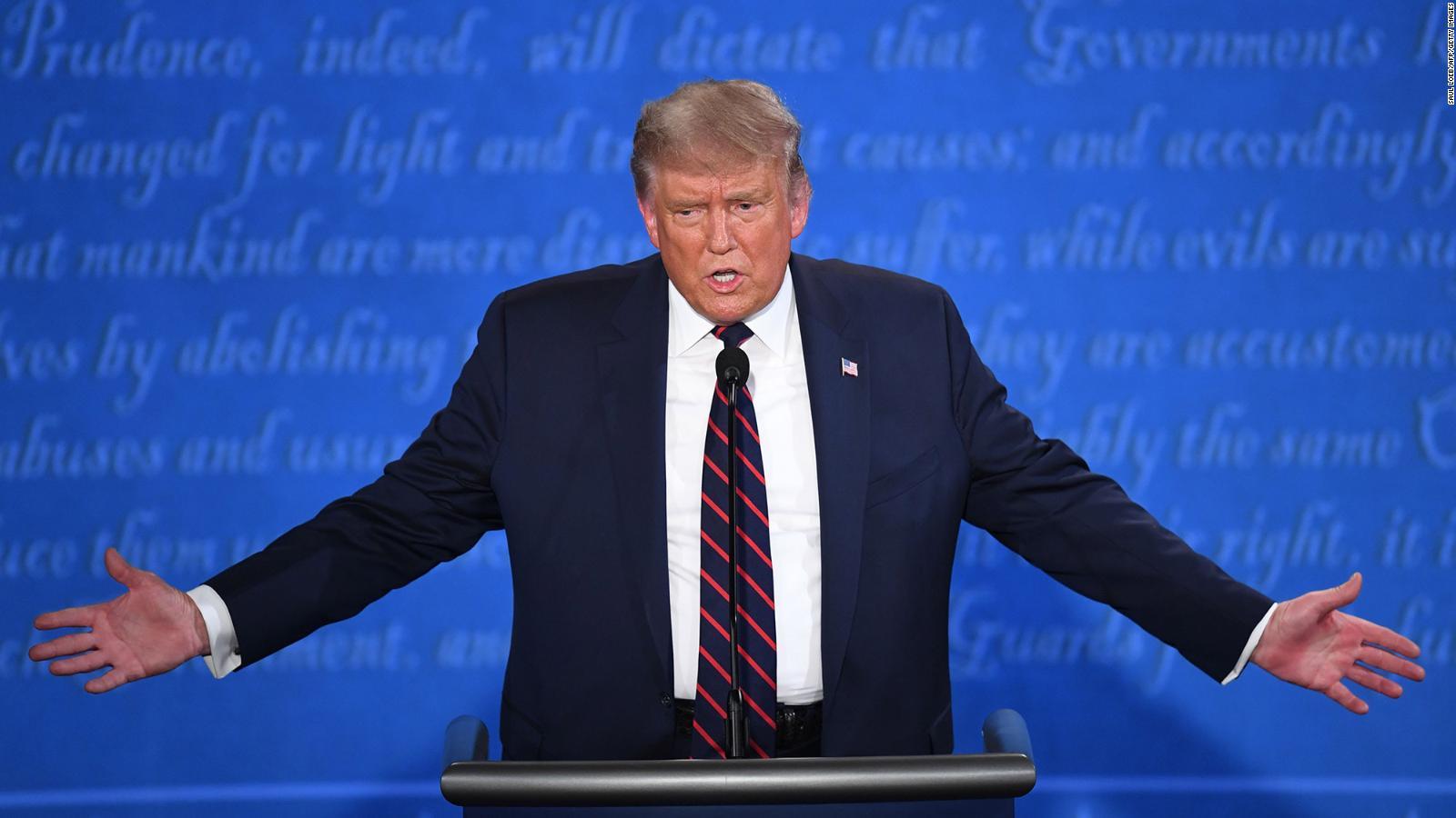 La frase más peligrosa de Trump en el debate presidencial