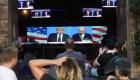 Debate presidencial se degradó con encuentro Trump vs. Biden
