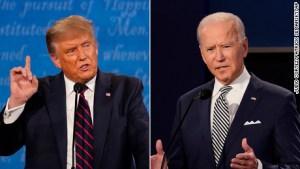 La tensiones que marcaron el debate entre Trump y Biden