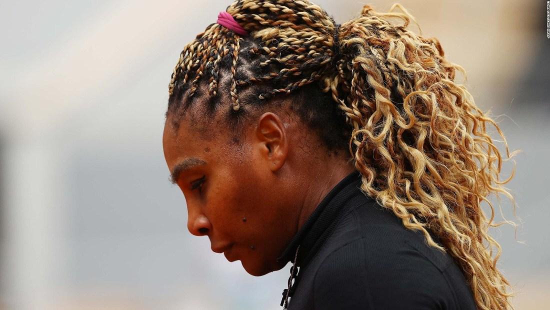 "Serena Williams: ""Me cuesta caminar"""