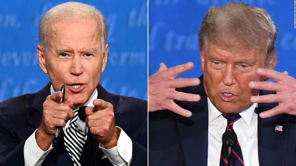 ¿Es Donald Trump menos racista que Joe Biden?