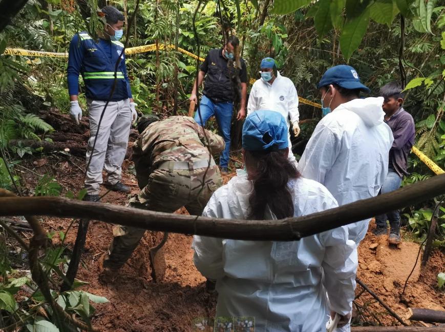 fosa clandestina PAnamá Crédito: Ministerio Público Panamá
