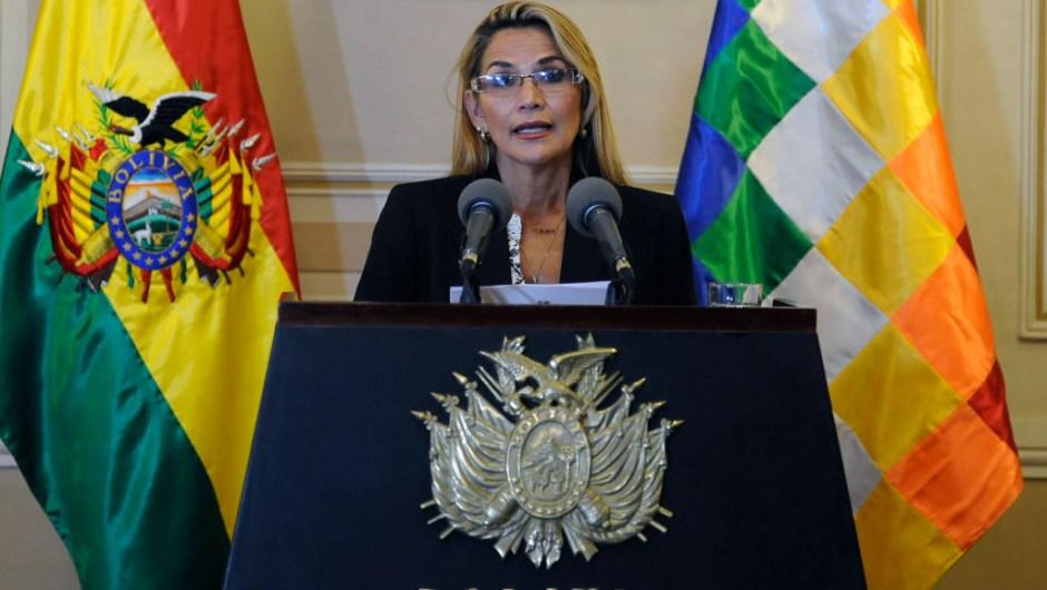 bolivia ministros jeanine añez