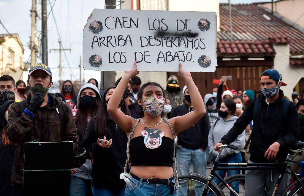 Paro nacional en varias ciudades de Colombia este lunes
