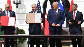 Acuerdos israel bahrein emiratos arabes unidos trump casa blanca medio oriente