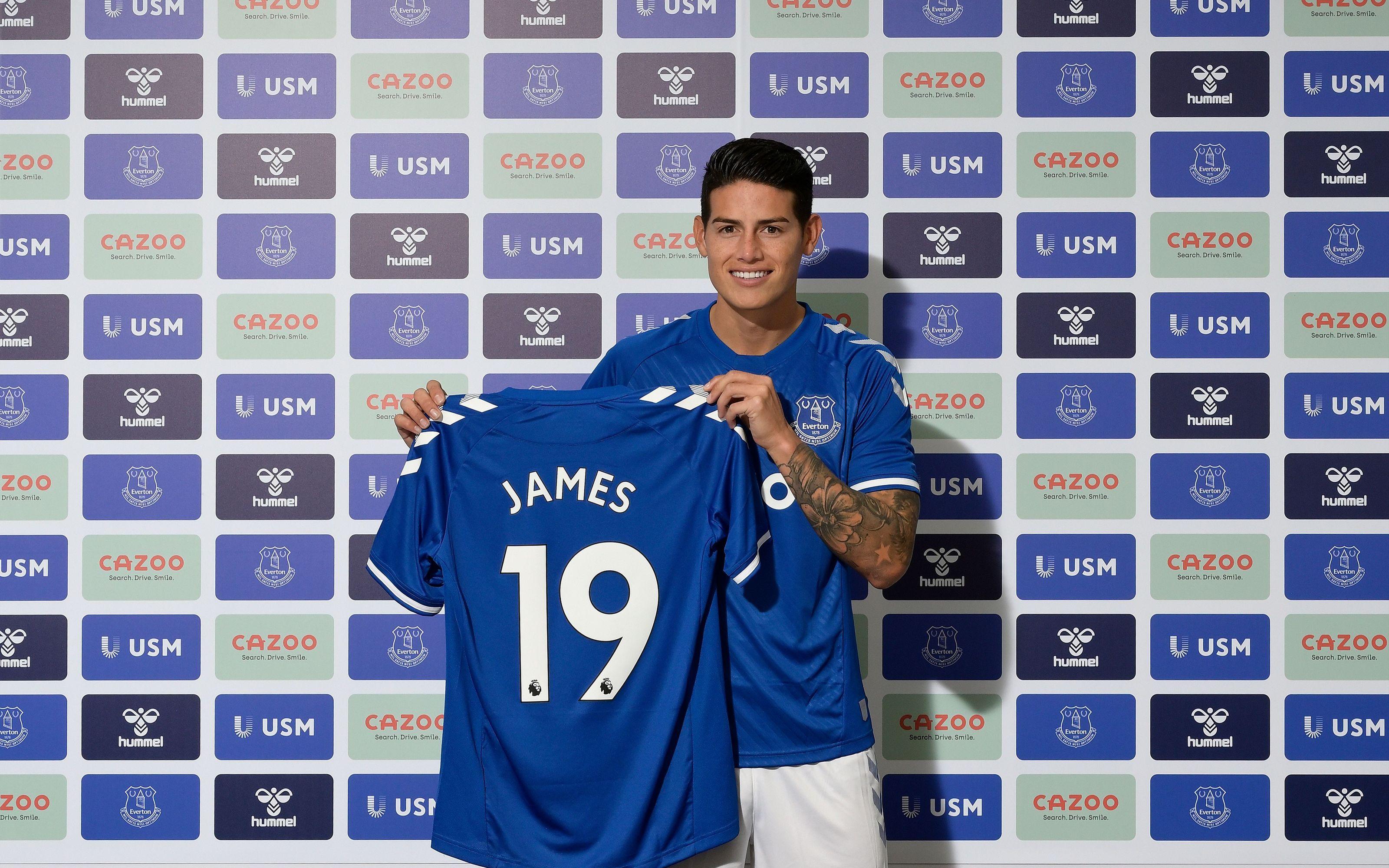 James Rodríguez tiene nuevo equipo: ya es parte del Everton – CNN