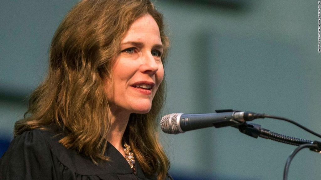 amy coney barrett corte suprema ruth bader ginsburg