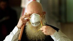 barba coronavirus mascara getty