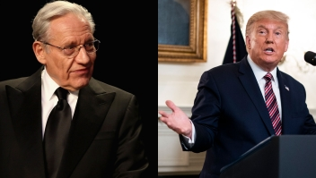 Bob Woodward y Donald Trump