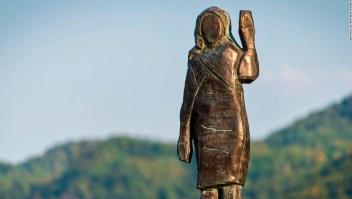 Estatua Melania Trump