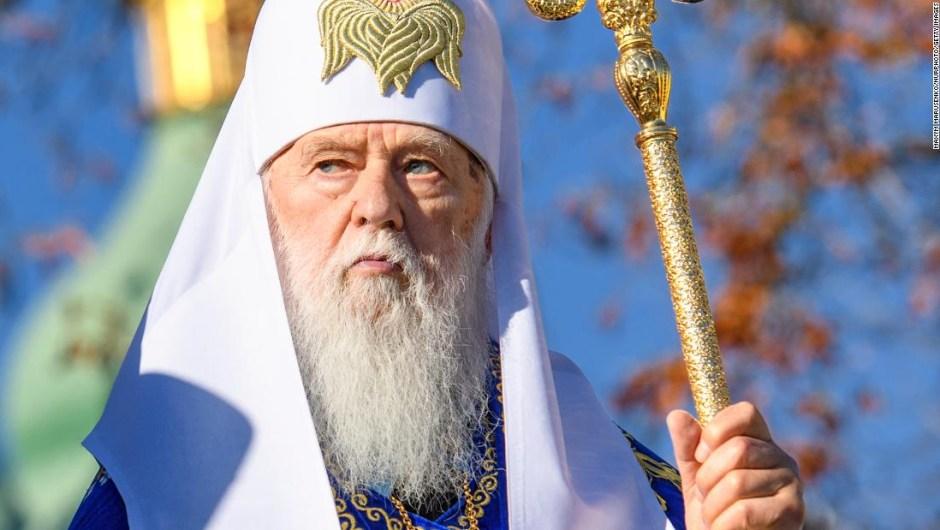 Líder de la iglesia ucraniana que llamó al covid-19 'el castigo de Dios' por el matrimonio entre personas del mismo sexo da positivo en la prueba del virus