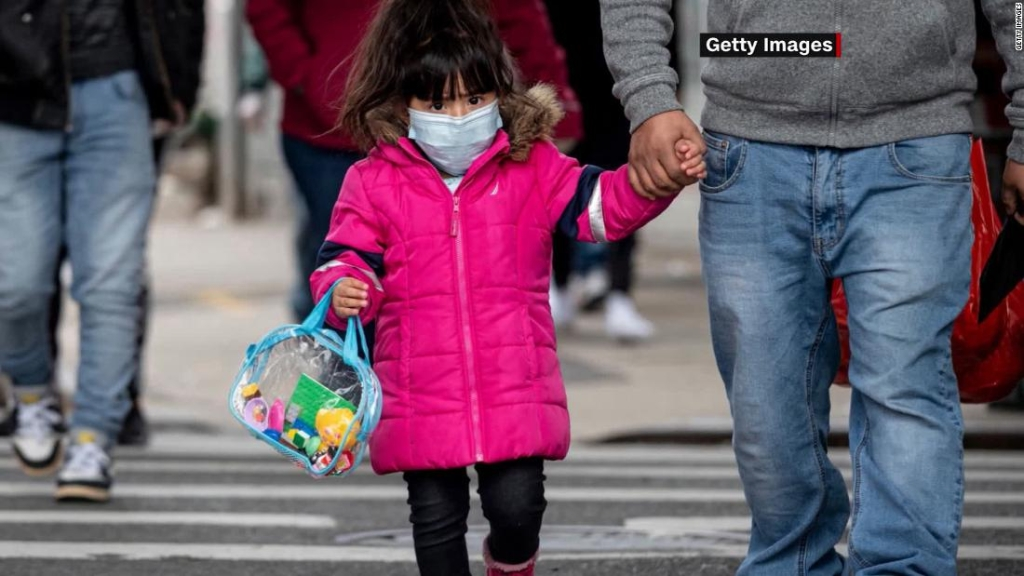 Medio millón de niños estadounidenses han sido diagnosticados con covid-19