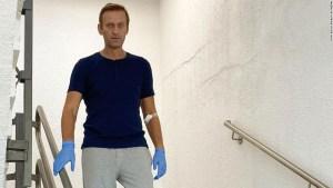 Alexey Navalny, crítico opositor del Kremlin, dado de alta del hospital tras envenenamiento