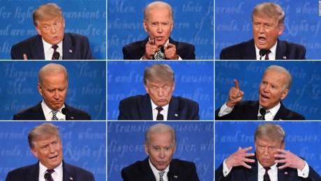 Primer debate Trump Biden Éxitos y fallas