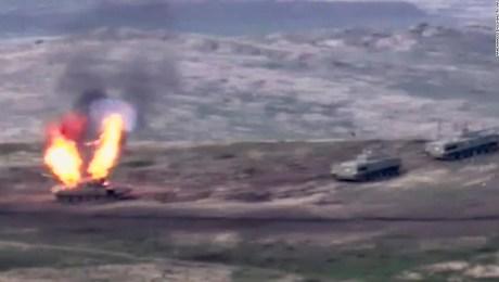 Estallan enfrentamientos entre Armenia y Azerbaiyán por región en disputa
