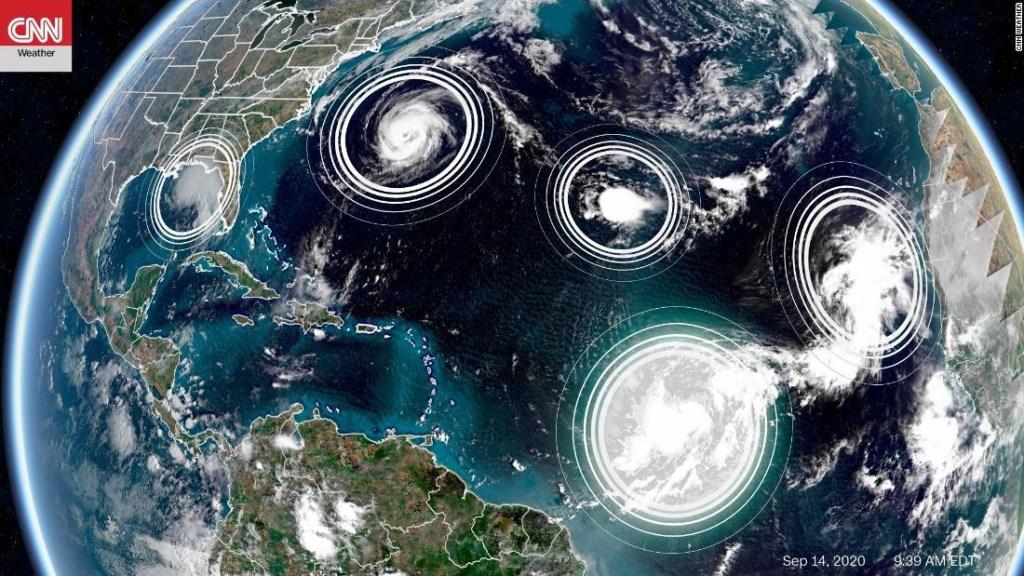 huracanes 2020 temporada atlantico sistemas