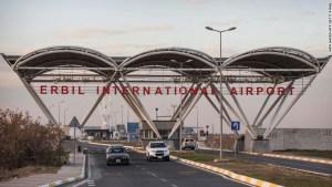 iraq base cohetes aeropuerto erbil
