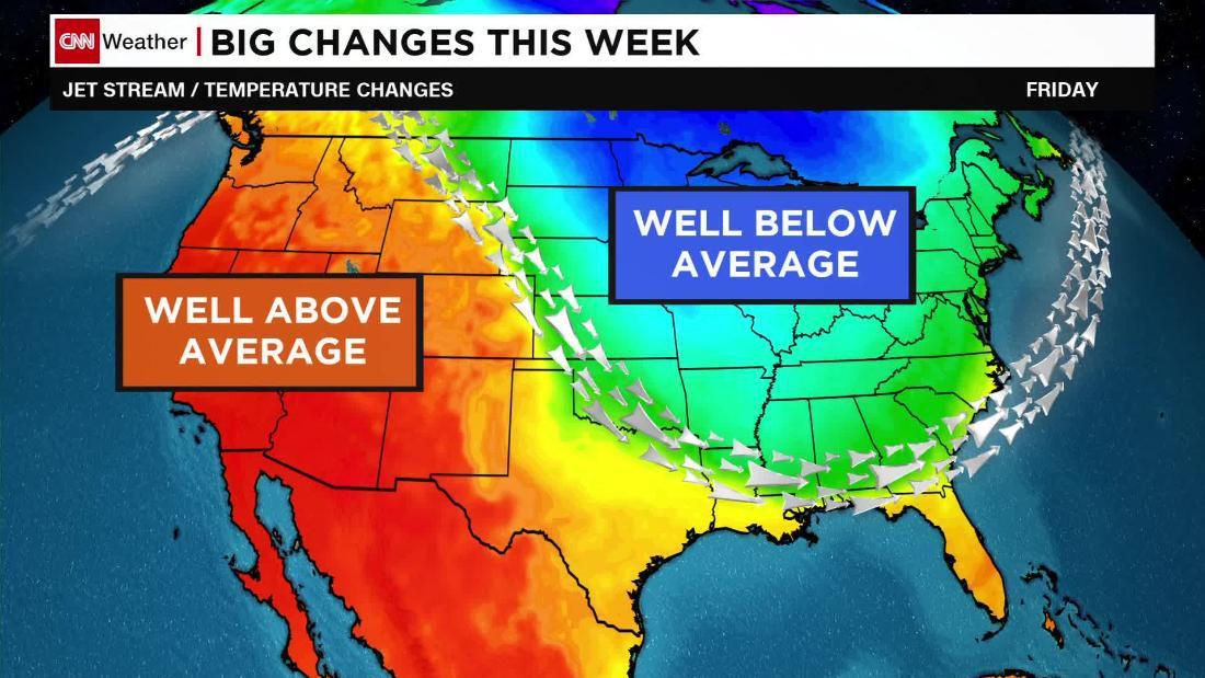 Pronóstico Ee Uu Temperaturas Caerán En El Este Esta Semana
