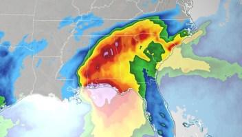 sally huracan riesgos peligro amenazas inundacion marejada