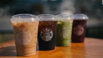 Starbucks elimina popotes pajillas