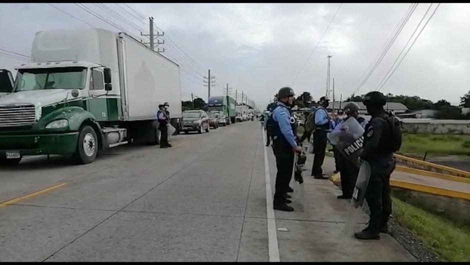Honduras transportistas carreteros