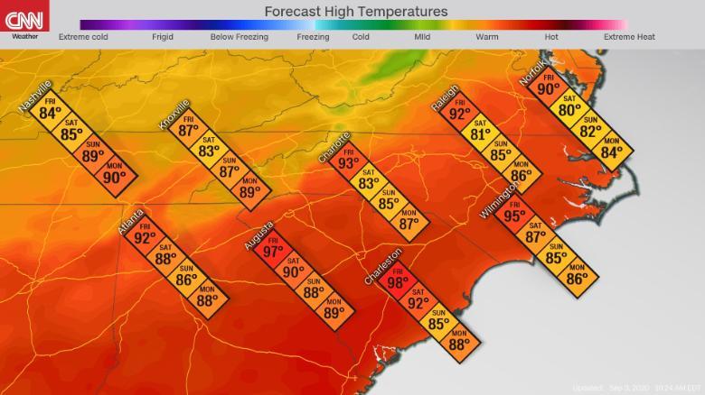 temperatura-sureste-día-del-trabajo
