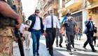 Macron y Adib planean ayudar a la reconstrucción de Beirut