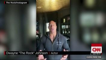 «The Rock» dice que él y su familia tienen covid-19