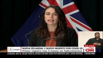 5 cosas: Nueva Zelandia reporta un muerto por covid-19