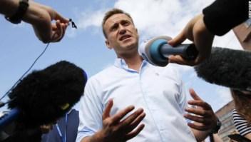 Así se recupera líder de la oposición rusa Alexey Navlany