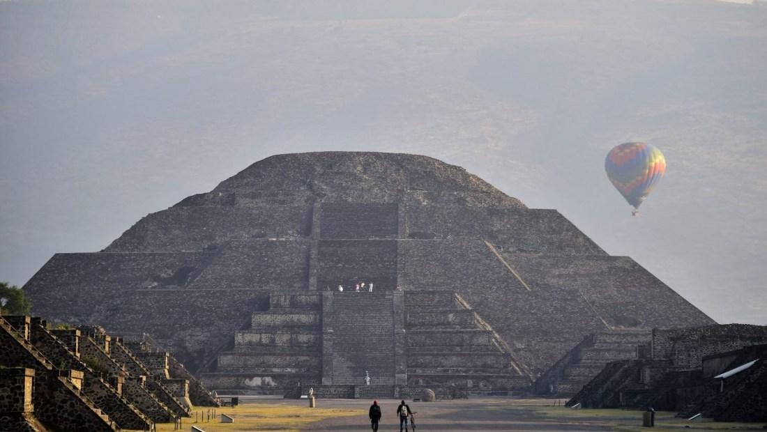 Teotihuacán reabre al público tras meses cerrado por el coronavirus