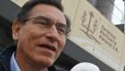 Podrían destituir al presidente Martín Vizcarra en Perú