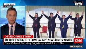 Yoshihide Suga, elegido como primer ministro de Japón