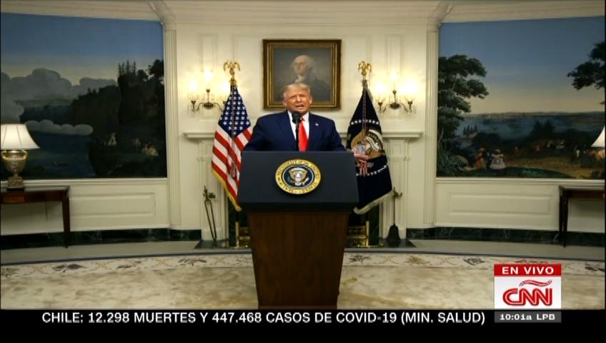 Trump: Haremos que China rinda cuentas por el coronavirus