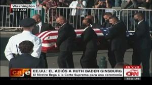 Conoce los detalles del homenaje a Ruth Bader Ginsburg