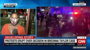 Protestas por la sentencia del caso Breonna Taylor se extienden a lo largo de EE.UU.