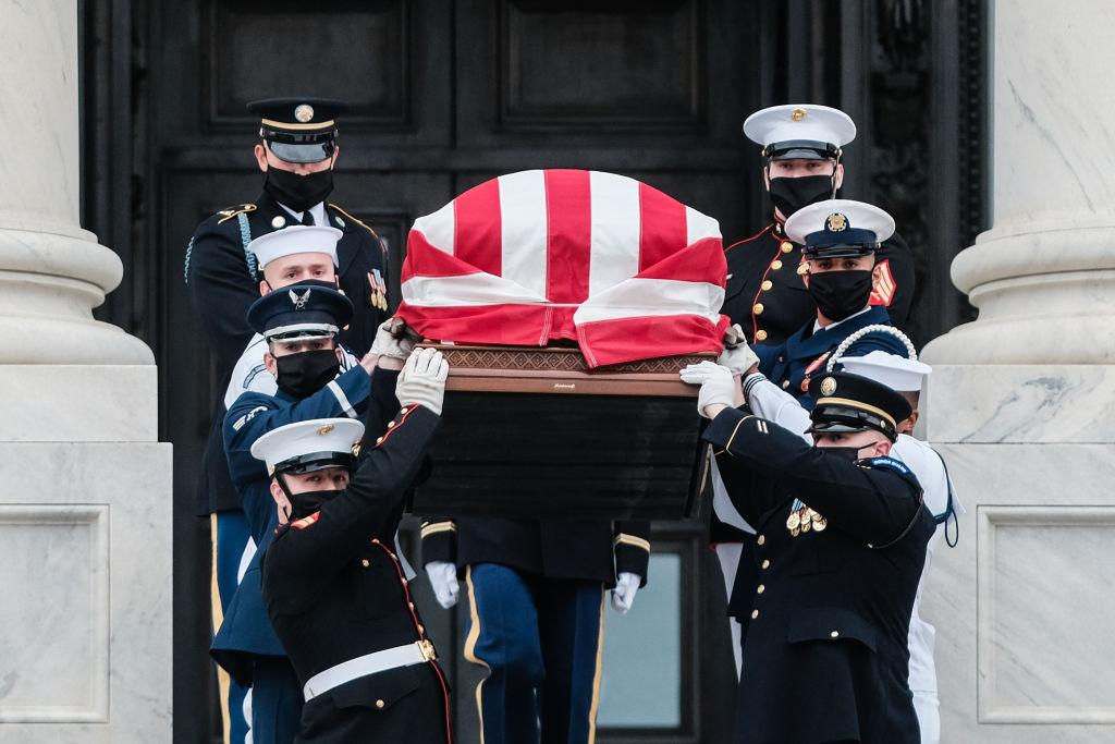 Así dieron último adiós a Ruth Bader Ginsburg en el Capitolio