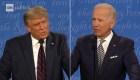 Así fue el caótico debate entre Trump y Biden