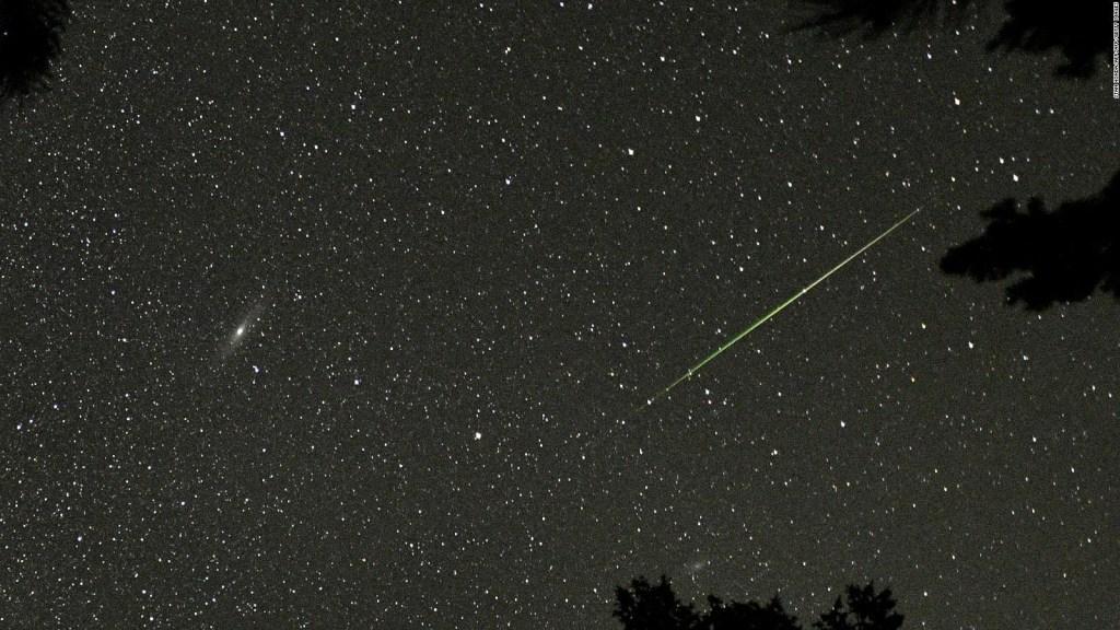 Estos son los días en los que se podía ver la lluvia de meteoritos