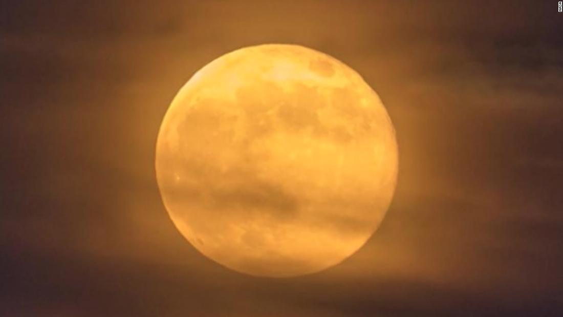 Lunas Llenas En Octubre Luna De Cosecha Y Una Luna Azul En Halloween