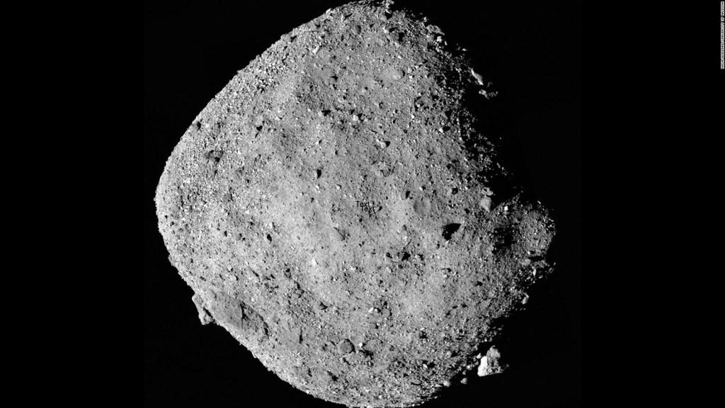 Asteroide Bennu, cerca de la Tierra por millones de años