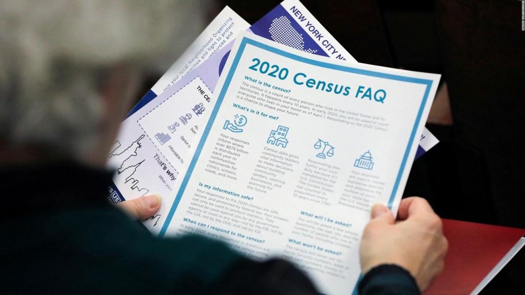 La Corte Suprema suspende el conteo del censo de EE.UU.