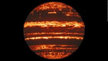 NASA descubre 'duendes' y 'elfos' en atmósfera de Júpiter