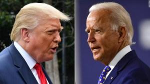 Biden y Trump miden fuerzas en asambleas separadas