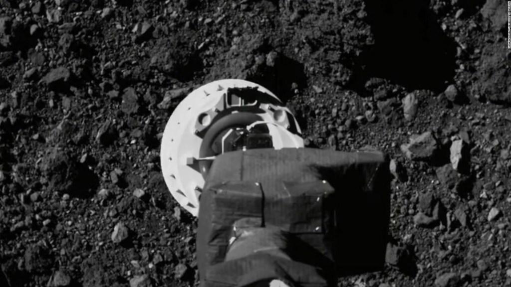 Así aterrizó una misión de la NASA en un asteroide