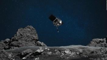 La NASA nota filtración en la misión a Bennu