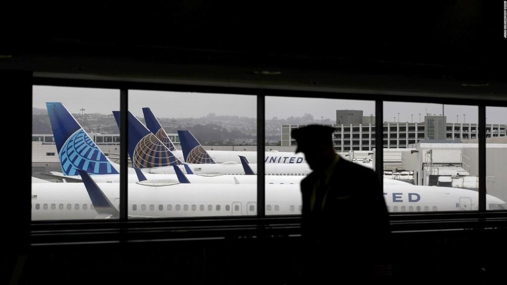 United Airlines ofrecerá pruebas de covid-19
